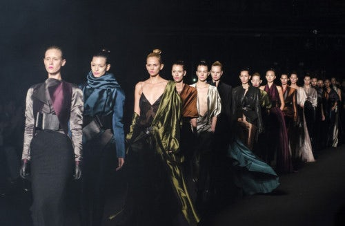 Haider Ackermann's special runway show at Colombiamoda 2013 | Source: Colombiamoda