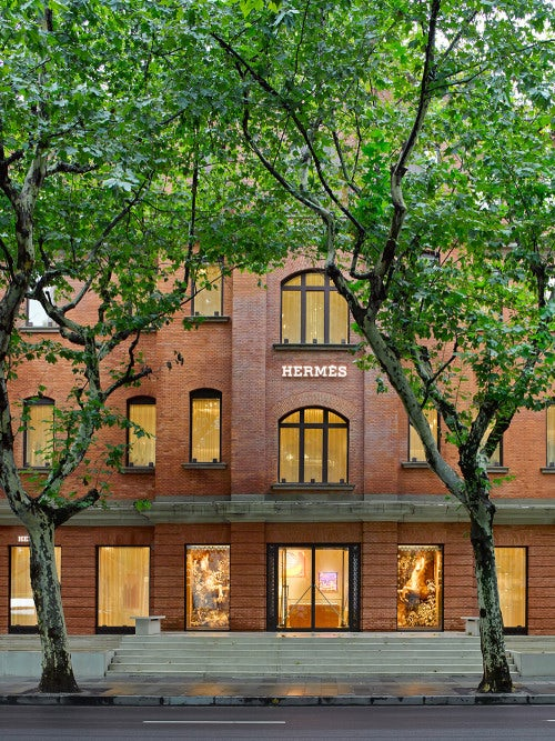 The Hermès maison in Shanghai | Photo: Masao Nishikawa for Hermès