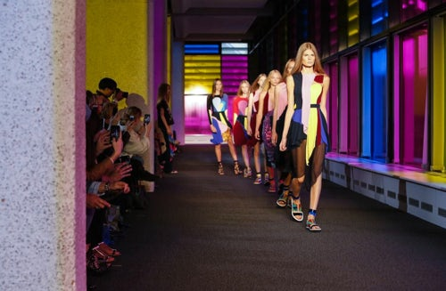Peter Pilotto Spring/Summer 2015 | Source: NowFashion