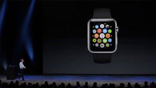 Keynote presentation unveiling the Apple Watch | Source: Apple.com
