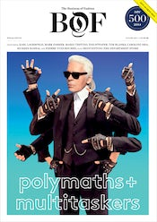 Cover of the BoF 500 'Polymaths & Multitaskers' Special Print Edition